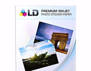 10 Glossy 10 Free Matte 20 Sheets Sticker Paper Ld Inkjet Laser