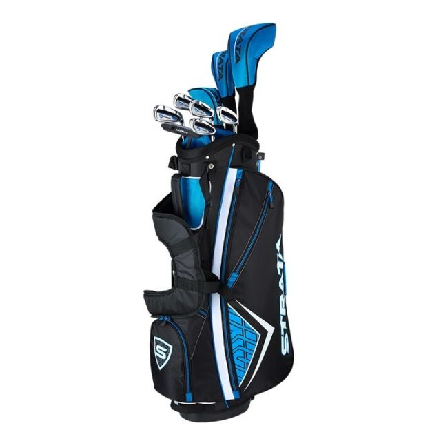 Callaway Strata 12 Piece Complete Golf Set w/ Bag Mens Right Hand - New 2021