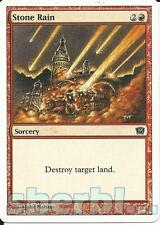 MTG Magic the Gathering TCG 9th Ninth Edition STONE RAIN Sorcery RED 221 /350
