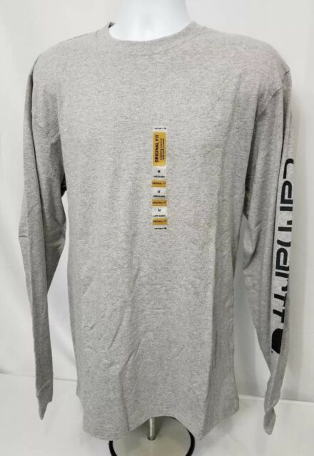 487ff1310 Buy Carhartt K231 Mens Graphic Logo T Shirt Long Sleeve XL Reg Extra ...