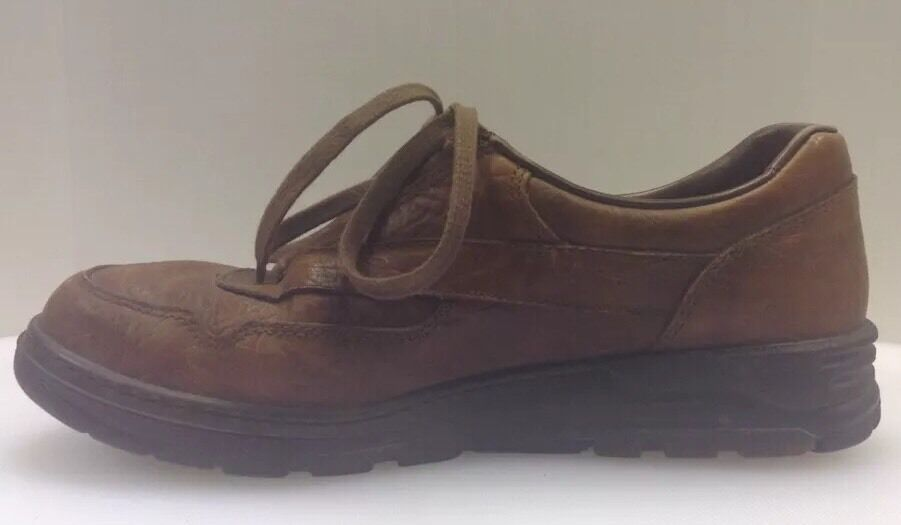 Mephisto Runoff Oxfords Casual Brown Leather shoes France Women's 9.5 9.5 9.5 US 7 EU 15bd58