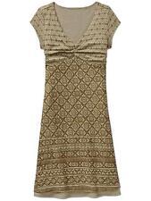 Athleta New Earth Green Dhara Burnout Dress Soft Comfortable Cap Sleeve Size XXS