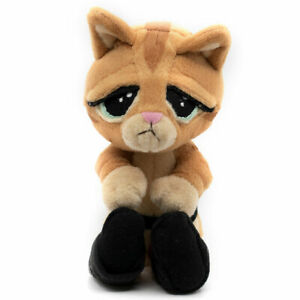 Dreamworks-Shrek-Puss-In-Boot-Plush-Baby-Eye-Kitten-Face-Stuffed-Cat-Toy-Doll