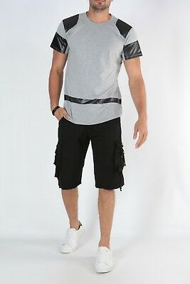 T-Shirt Homme Oversize Manche Courte Blanc Play-Off by Origin/'S