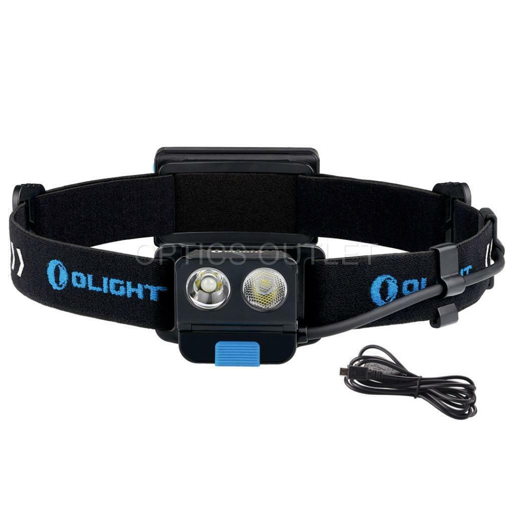 Olight H16 Wave 500 Lumen USB Rechargeable Battery Motion Activated Headlamp