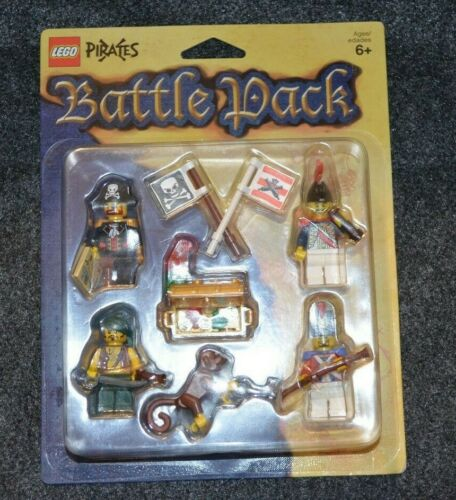 Sealed Package ~ Lego Minifigures w// Accesories PIRATES Battle PACK ~ New