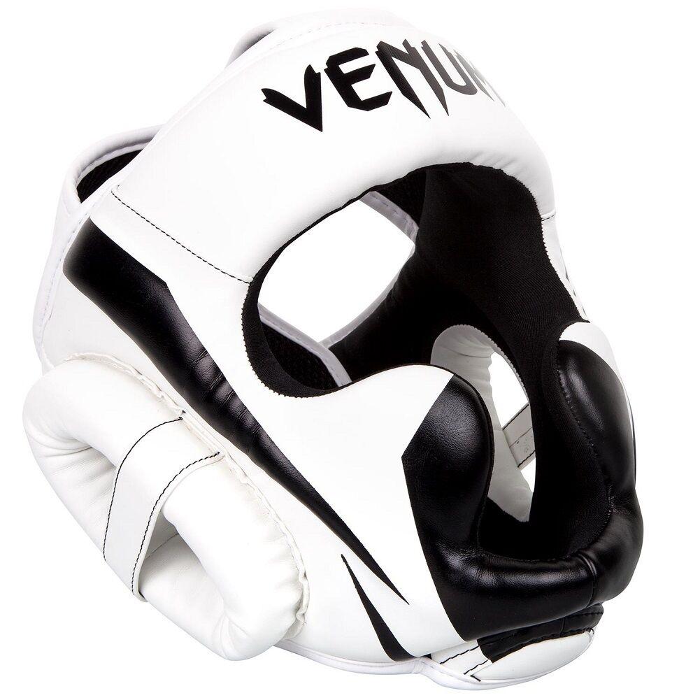 Venum Kopfschutz Elite Weiß Weiß Weiß schwarz- Kopfschutz Boxen MMA Kampfsport Kopfschützer 88c888