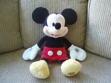 "VGUC ~ Mickey Mouse Plush Stuffed Doll Toy ~ Disney Store 17"" Tall"