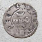 Limousin denier féodal billon La Marche Hugues X / French medieval feudal coin