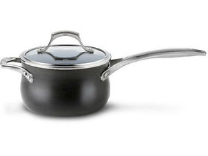 Calphalon 4 Qt Unison Nonstick Sauce Pan New Ebay