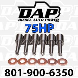 6-75HP-NOZZLES-TIPS-DODGE-RAM-CUMMINS-DIESEL-1998-2002-injectors-VP44-75-HP