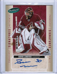 05-06-PARKHURST-HOCKEY-AUTHENTIC-SIGNATURES-AUTO-CARDS-XX-U-Pick-From-List