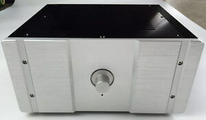 Aluminum Case DAC amp Shell Preamp Amplifier Chassis size 260*90*311mm