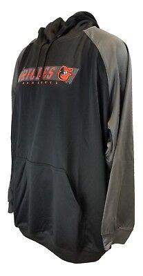 Profile Big /& Tall MLB mens Orioles Team Reflective Tricot Track Jacket