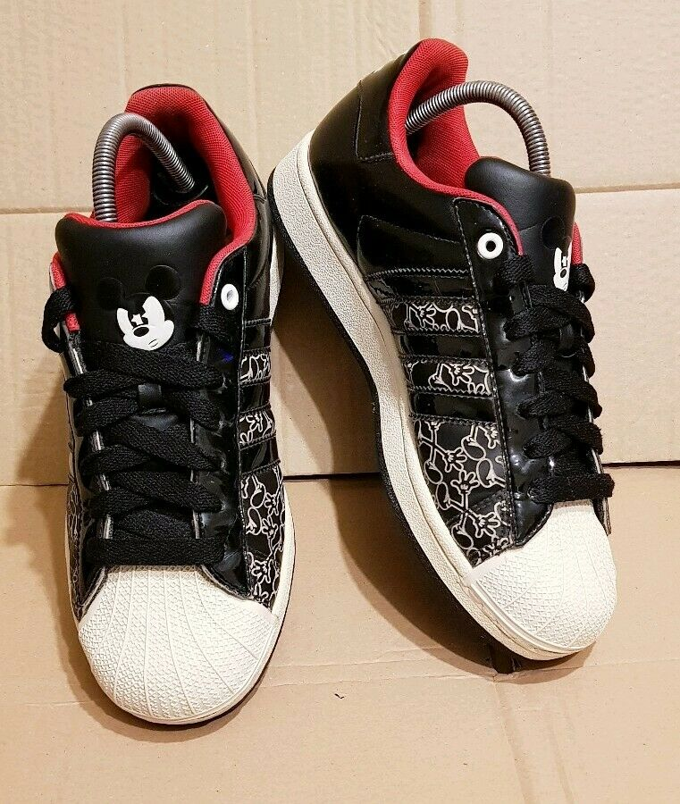ADIDAS ADIDAS ADIDAS SUPERSTAR DISNEY MICKEY MOUSE TRAINERS LIMITED EDITION SIZE 6.5 UK RARE a0b5ec