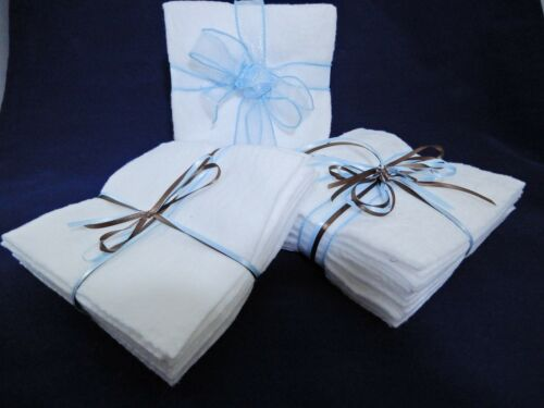 Batting Fabric 10in by 10in Die Cut 50 Squares 100/% Cotton