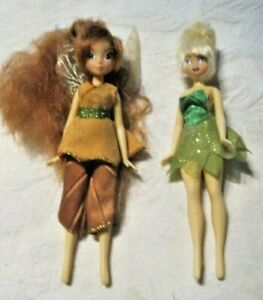 Disney-Fairies-TinkerBell-amp-Fawn-6-034-Dolls