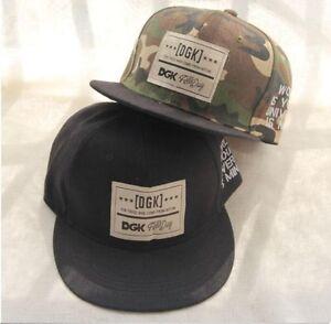 Camouflage Baseball Cap Men Women Hat DGK Hip Hop Caps Gorras Planas ... 62b8fb20760