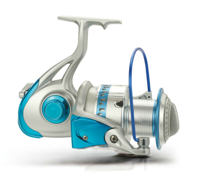 SB10000 SIGNAL Spinning Fishing Reel 7BB+1RB Aluminium Spool Salt/Fresh Water