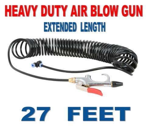 Air Seat Blow Gun Big Rig Trucks Tractor Trailers Extended Kit