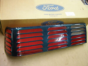 Image Is Loading Nos Oem Ford 1987 1993 Mustang Gt Tail