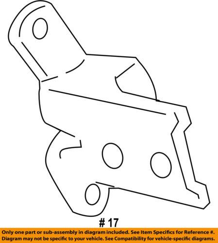 Chevrolet GM OEM 12-18 Sonic-Door Hinge-Lower Left 95493871