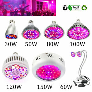 150W LED Pflanzenlampe Grow Light Pflanzenlicht Zimmerpflanzen Wachstumslampe