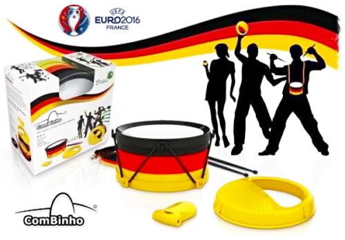 Fussball EM WM ComBinho Fan Trommel Deutschland Fanartikel Stadion Rassel sport