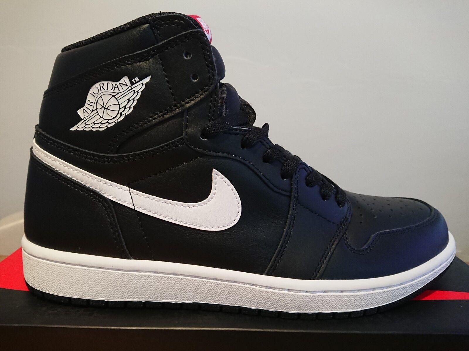 Nike air jordan jordan jordan 1 'alto og yin - yang pacchetto nero 10 222aae