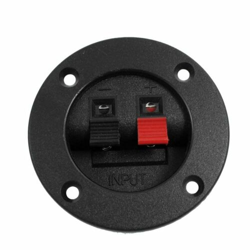 "Speaker Round Cup 2-Terminal Binding Post Board 3/"" Diameter P8H8"