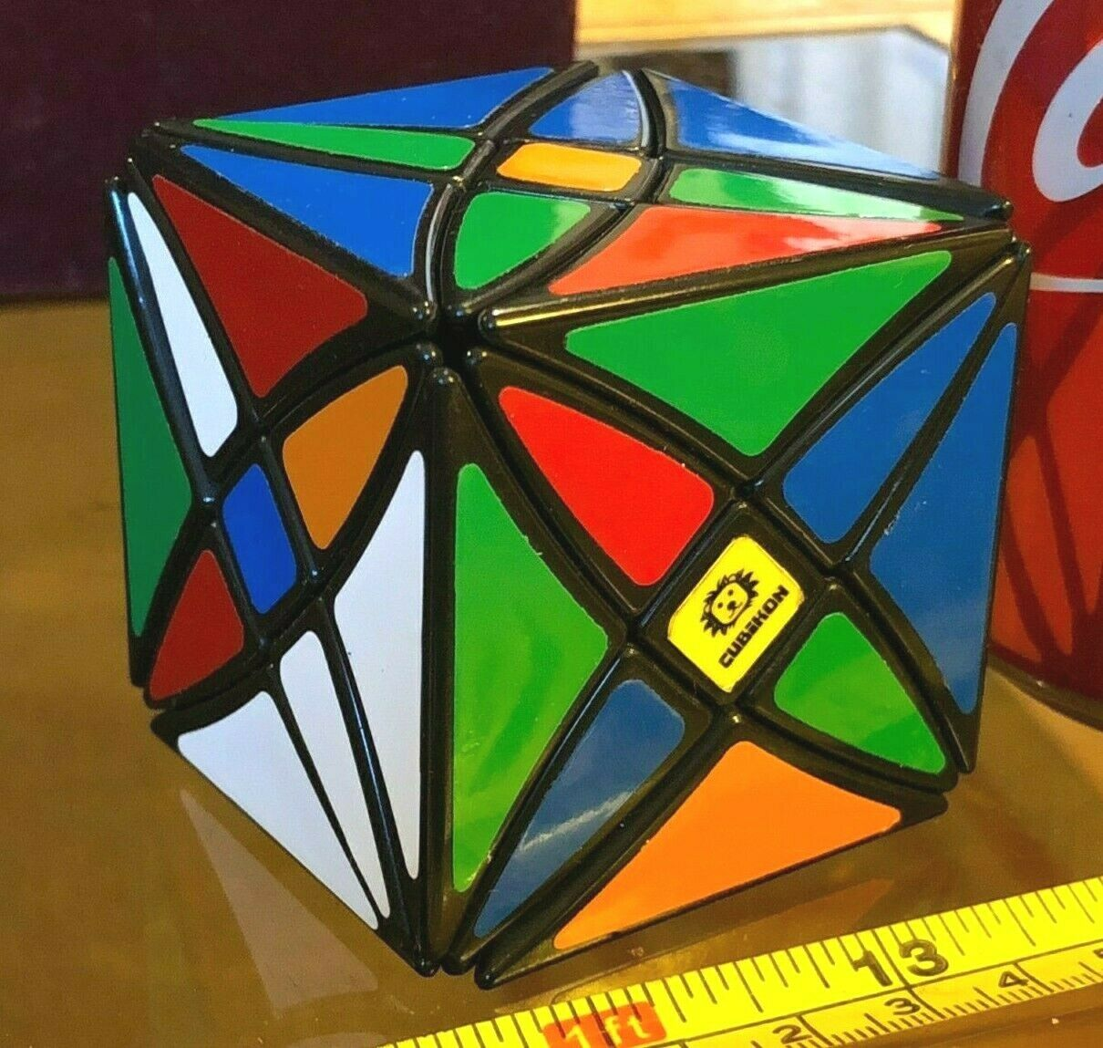 Axle Cube Cubikon Puzzle Cube Puzzle Difficult Used