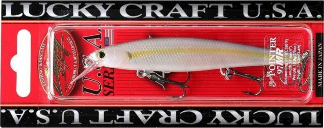 250 Chartreuse Shad LUCKY CRAFT Pointer 100DD