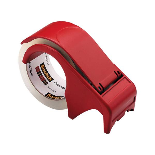3m Scotch Tape Dispenser Dp300rd Red Plastic Hand Held | eBay