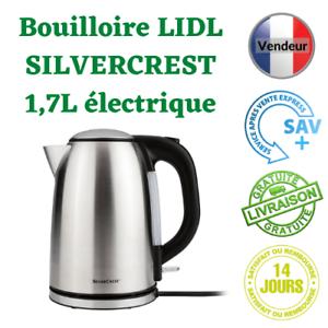 Bouilloire Electrique LIDL  Silvercrest 1,7L pour Thé Café Cadeau Cuisine