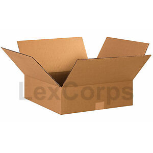 25 Qty 15x15x5 SHIPPING BOXES LC Mailing Moving Cardboard Storage Packing