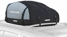 Car Roof Top Cargo Soft SUV Deluxe Carrier Bag Storage Weather Proof Luggage Van