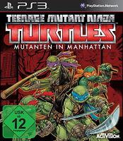 Teenage Mutant Ninja Turtles: Mutanten in Manhattan (Sony PlayStation 3, 2016)