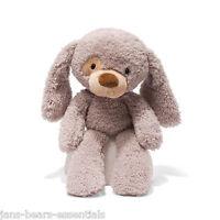 Fuzzy Stuffed 13 Inch Beige Dog made by Gund - Style 320597 Toys