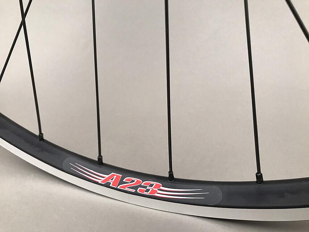 Image 3 - Velocity A23 Black Rims Suzue Hubs Single Speed Track Fixed Gear Bike Wheelset