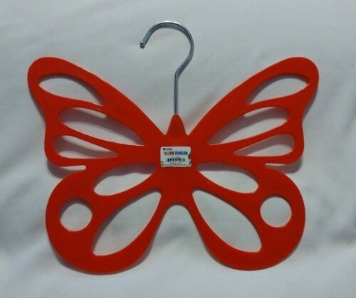 Yellow Plastic Butterfly Scarf Hanger Red You Pick Pink