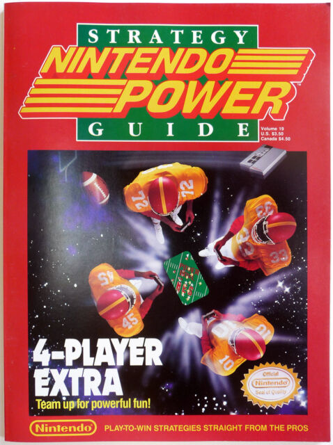 nintendo power strategy guide 1990 volume 19 4 player extra ebay rh ebay com nintendo power player's guide nintendo power player's guide pdf