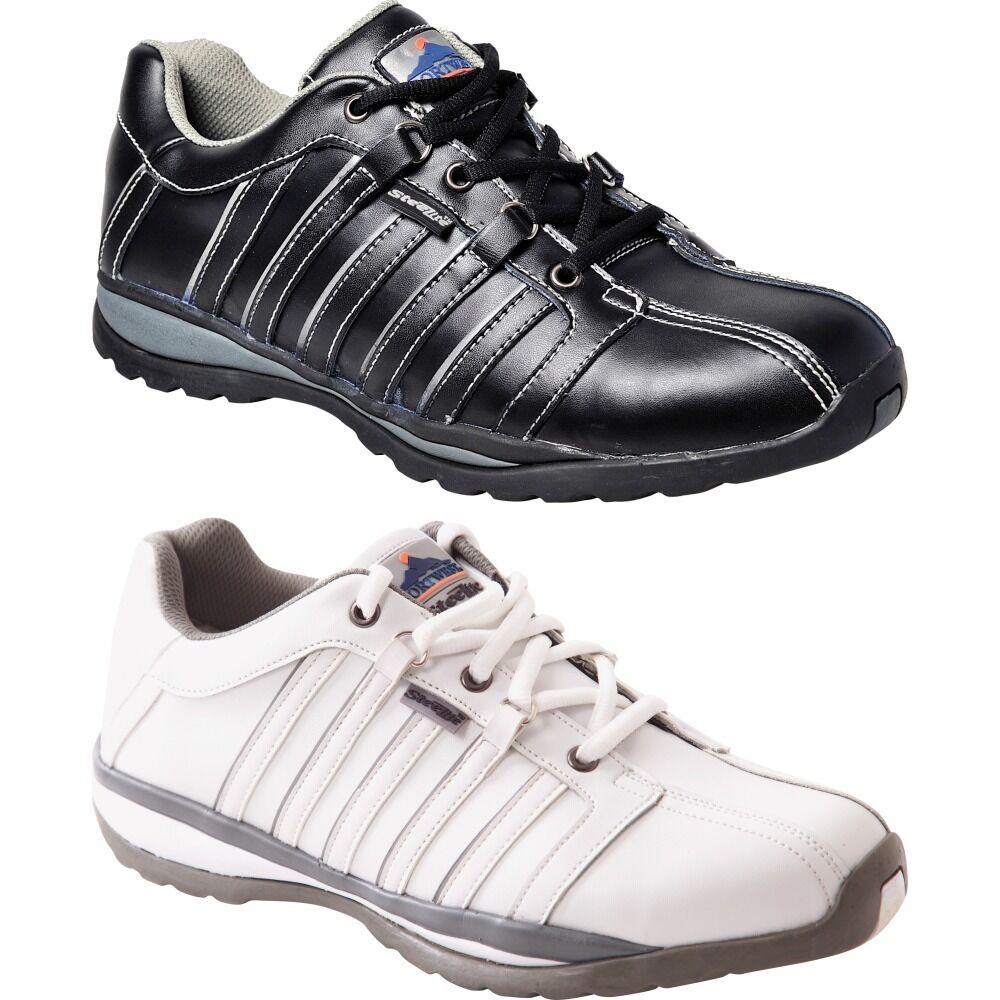 Mens Portwest Steelite? Arx Safety Trainer Shoes Sneakers S1P HRO (FW33)