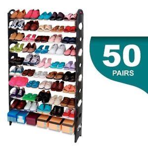 Mueble organizador de zapatos hasta 50 Pares