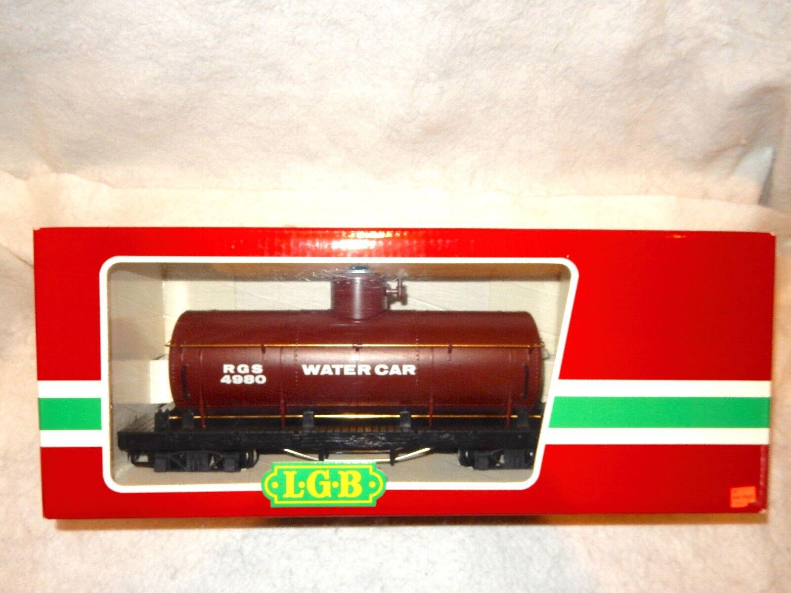 LGB Y 03 Rio Grande Southern single dome Water Car-G gauge- -New in box --