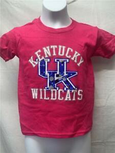 Nuevo-Kentucky-Wildcats-Youth-Talla-XS-Xs-Rosa-Camisa
