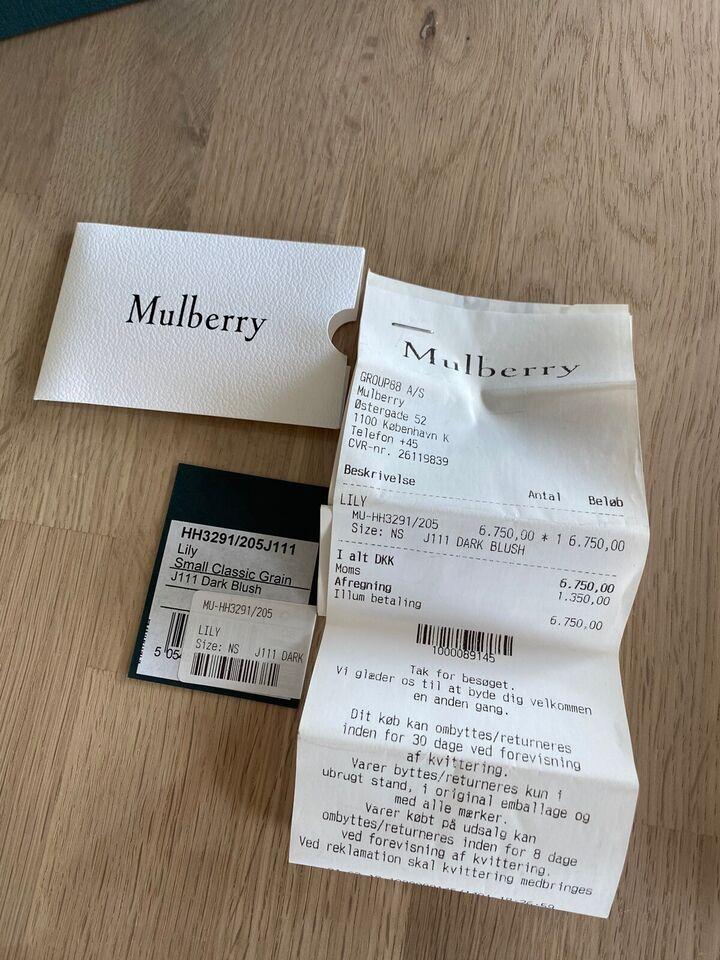 Crossbody, Mulberry, bøffellæder
