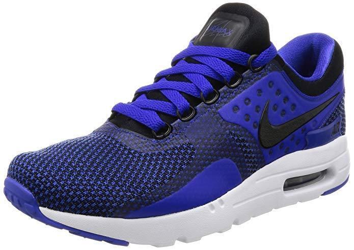 Nike Mens Air Max Zero Essential shoes Sneakers Black bluee 876070 001 New Sz 11