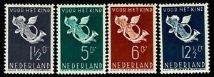 1936-Netherlands-B90-B93-Semi-Postal-OGNH-VF-CV-45-00-ESP-3085