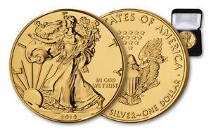 2019-1-1-oz-Silver-American-Eagle-BU-Gilded-in-24-Karat-Gold