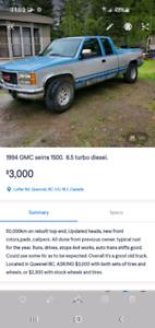 1994 GMC seirra